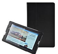 estilo tímido oso ™ litchi delgado inteligente caso de la cubierta del soporte del cuero de la PU para HP Slate tableta de 7 3g