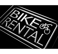 Bike and Rental Services Neon Light Sign