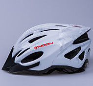 LUNA Ciclismo Silver PC / EPS 21 Vents luminoso Advertencia Bike Helmet