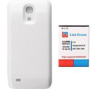 Enlace Dream High Quality 3.7V 6200mAh Engrosada batería del teléfono celular + blanco de la contraportada para Samsung Galaxy S4 Mini i9190 (B500BE)
