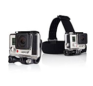 New Arrival Headstrap + Quickclip + Screw for Gopro Camera
