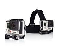Nouvelle arrivée HEADstrap + Quickclip + Vis pour caméra Gopro