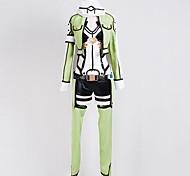 Epée d'art en ligne Ⅱ Costume Sniper Sinon Asada Shino Cosplay Gun Gale ligne