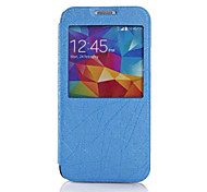 Wire Lines Pattern PU Leather Full Body Case for Samsung Galaxy S5 I9600(Assorted Colors)