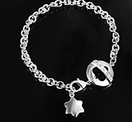 Amazing Silver Plated Girls Bracelet