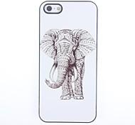 Elephant Design Aluminium Hard Case for iPhone 5/5S