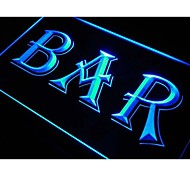 bar de cerveja sinal de luz neon