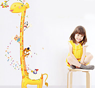 Giraffe Pattern Wall Sticker(1PCS)