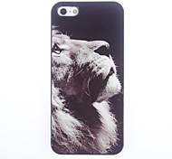 Motivo Lion Unique Hard Case in alluminio per iPhone 5/5S