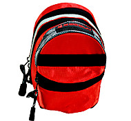 BOODUN Double Layers Red Waterproof Nylon Bike Bicycle Saddle Bag