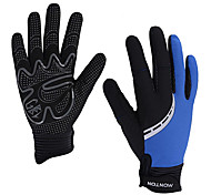 Glove Cycling / Bike All / Men's Full-finger Gloves Keep Warm / Windproof / Anti-skidding Spring / Summer / Autumn / Winter Black / Blue M