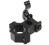 Bicycle Flashlight Mounting Black Bracket