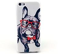 vormor® feliz padrão cão difícil caso tampa traseira para iPhone 5 / 5s