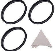 58MM Star Filter Set :4-Point, 6-Point, and 8-Point Star Filters + Cleaning Cloth