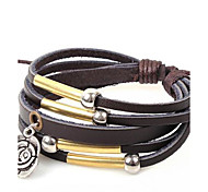 Men's Occident Style Features Creative Gifts  Leather Braided Bracelets