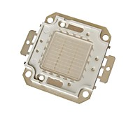 LOHAS® DIY 20W 1800-1900LM Blue White Light Square Integrated LED Module(DC 30-34V)