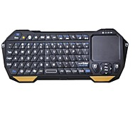 BT05 Mini Bluetooth V3.0 77-key Keyboard with Built-in Touchpad for Cellphones  and Tablets