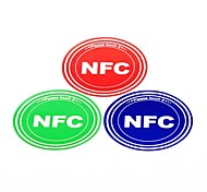 Smart NFC Tags Stickers Set for Samsung/Nokia/BlackBerry/Nexus/HTC Ntag203 144 Bytes (3 PCS)
