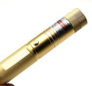 LT-303 Zoom Light Match Green Laser Pointer(5MW,532nm,1x18650,Golden)