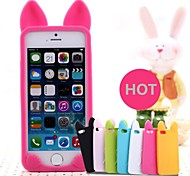 New 3D Cat Ears Silicone Soft Case for iPhone 5/5S (Assorted Colors)