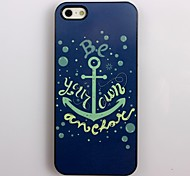 Be Your Own Anchor Design Aluminum Hard Case for iPhone 4/4S