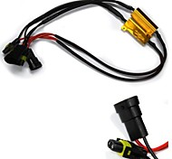 H11 Car Fog Lamp Led Canbus Decoder With 50W 8R Resistor And Wires (A pair)  #00038522
