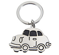 Cartoon-Car-Shaped Photo-attachable Key Ring