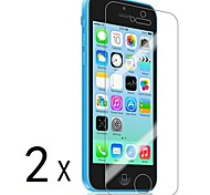 Pack de 2 films de protection d'ecran Haute Resolution pour iPhone 5C
