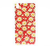 Kinston Red Bottom Pattern TPU Soft Case for HTC Desire 816