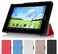 "Slim Folding Hard Shell Stand Leather Case Cover For Acer Iconia One 7"" B1-730HD"