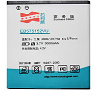 High Capacity 3.7V 3000mAh Li-ion Replacement Battery for Samsung Galaxy i9000
