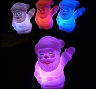Coway Chirstmas Santa Claus Colorful LED Nightlight Holiday Products