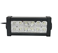 36W Mixing 6000K 12-Epistar LED Double-lines work light Bar DIY used in Car/Boat/Auto headlight