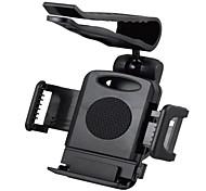 montar tirol 2014 nova chegada suporte do telefone 360 12 milímetros degreeuniversal sol viseira carro suporte clipe titular pára-sol