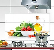 Doudouwo ® Ботанический овощи Анти-Нефть стены стикеры