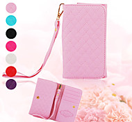 Elonbo J9J Fashionable Wrist Strap Full Body Leather Wallet Pouch Case for iPhone(Assorted Colors)
