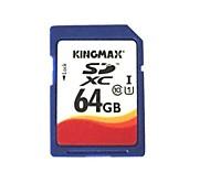véritable carte mémoire SDHC Kingmax - 64gb (classe 10)
