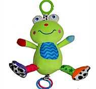 Babyfans ™ Baby Cute Green Frog Cartoon Shaped Stuffed Music Educational Toys