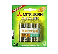 MITSUBISHI LR6G AA 1.5V piles alcalines (4pcs)