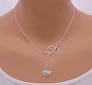 shixin® Mode Vogelblattform Anhänger Halskette (1 PC)