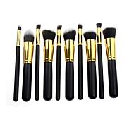 Lana 10 fibra pcstwo colori pennello professionale set black + gold