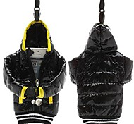 Universal 4 Inch Mobile Phone Bag Down Jacket Coat Pouch Cotton with Lanyard for iPhone Samsung and Other Smartphones