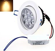 luz llevada blanca caliente de la lámpara del techo de la CA 85 ~ 265v 7w