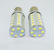 1156 3w 250-300lm 36x2835smd Weißlicht LED-Lampe für Auto (DC 12V, 2 Stück)