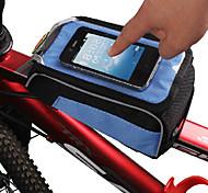 Bike Handlebar Bag / Cell Phone Bag Cycling/Bike For Waterproof / Wearable / Touch Screen , Pink , PVC / Polyamide)