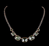 Best Crystal Square Statement Necklace