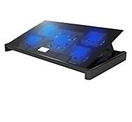 superbpag ® cooler usb2.0 almohadilla de refrigeración para portátil portátil (hasta 17 pulgadas)