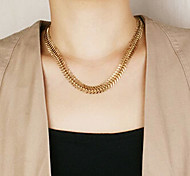Shixin® Fashion Golden Silver Chocker Necklace(1 Pc)