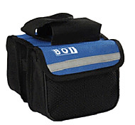 BOI 600D Polyeste Blue Waterproof Wearable Cycling Frame Bag with Reflective Stripe