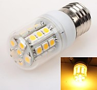 E26/E27 3 W 27 SMD 5050 240 LM Warm White T Corn Bulbs AC 220-240 V